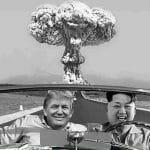 La bombe Atomique Donald et Kim
