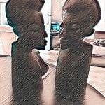 L'homme et la femme d'ébène